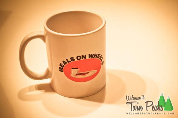 Meals On Wheels Twin Peaks mug