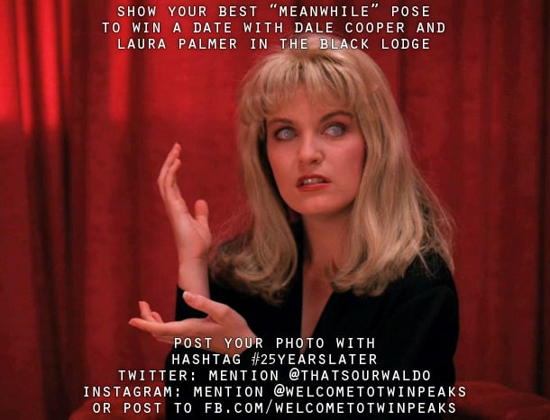Win a date with Laura Palmer and Dale Cooper