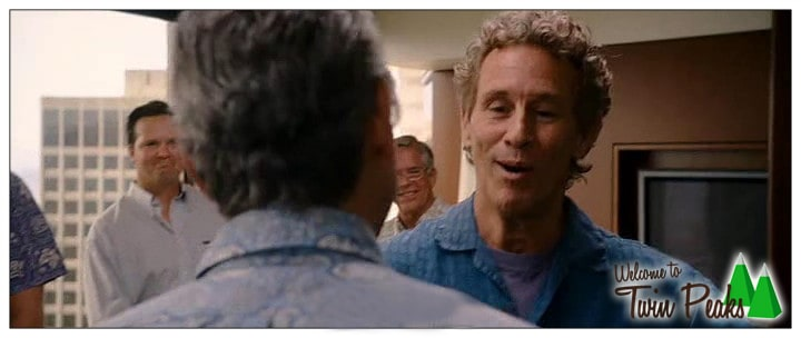 Michael Ontkean (Sheriff Harry S. Truman from Twin Peaks) in The Descendants