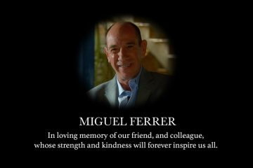 Miguel Ferrer - NCSI Los Angeles tribute