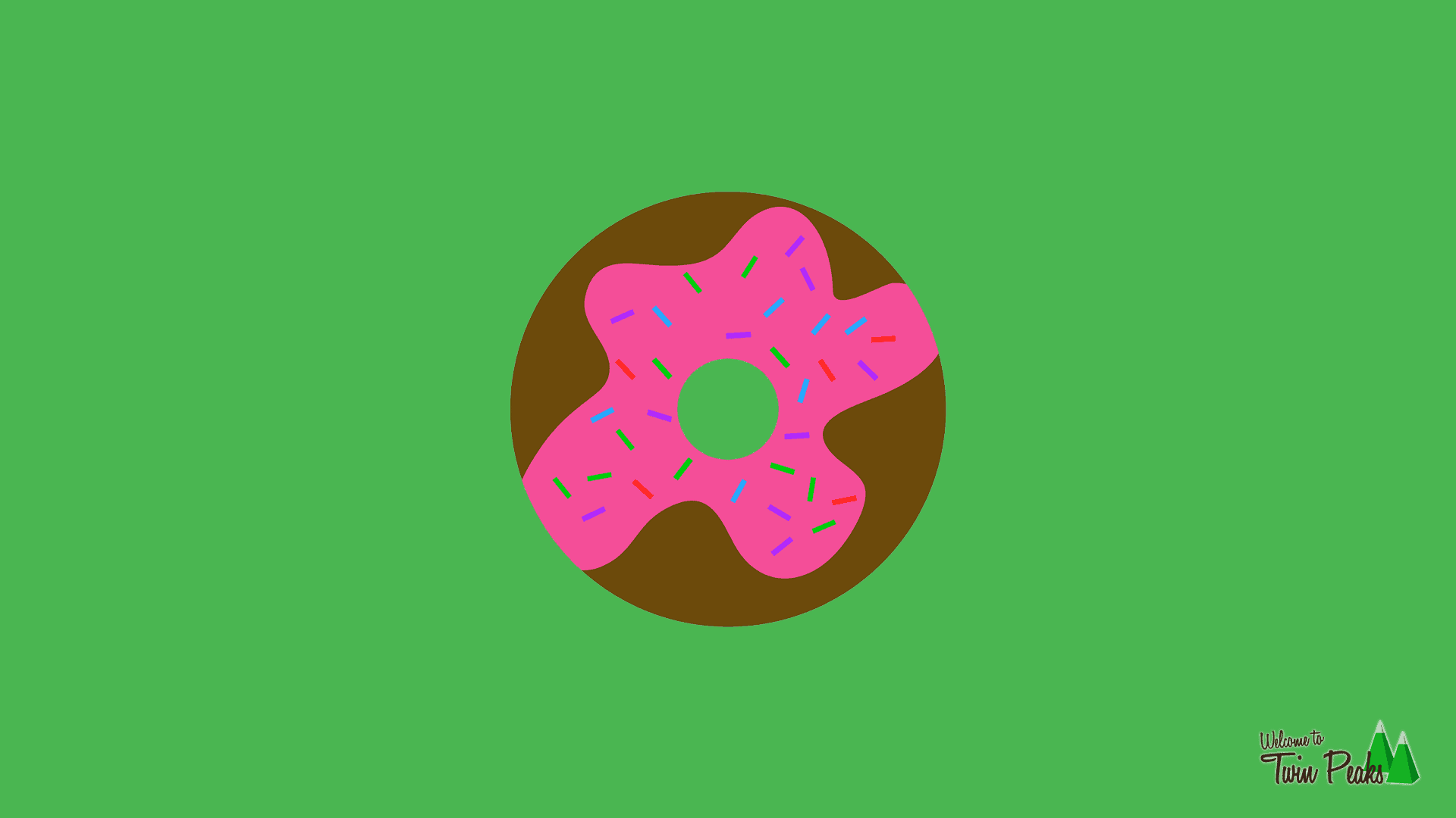 Free Donut Desktop Wallpaper