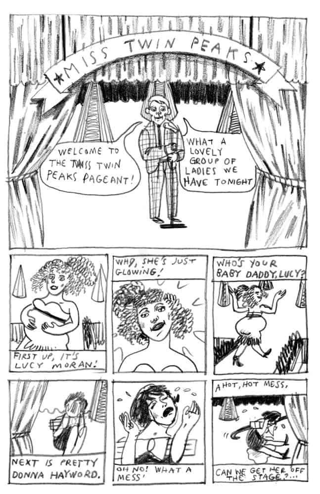 Miss Twin Peaks by Gant Powell