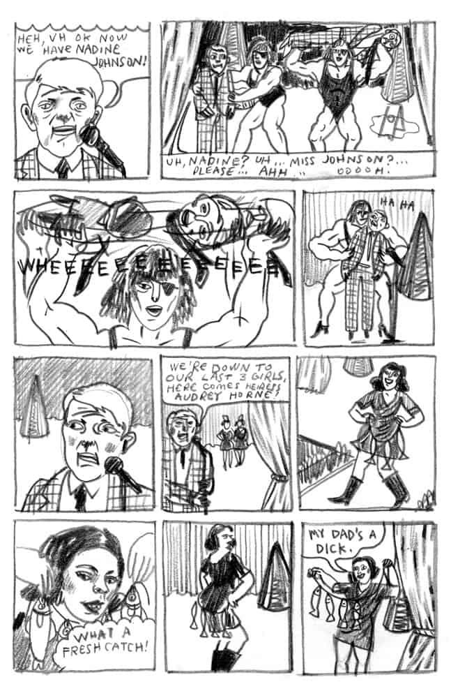 Miss Twin Peaks by Gant Powell (2nd panel)