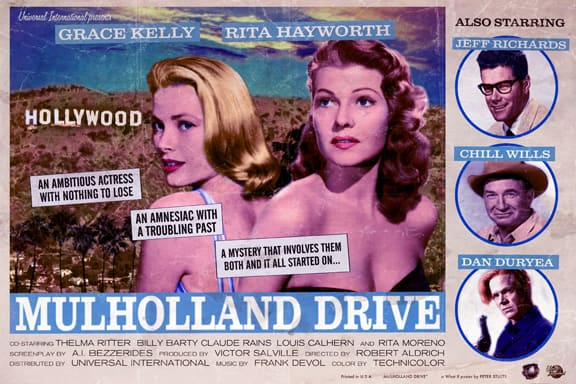 Mulholland Drive starring Grace Kelly
