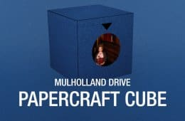 Blue Box from Mulholland Drive: DIY papercraft cube
