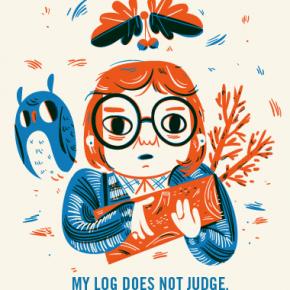 My Log Does Not Judge - Lauren Gregg