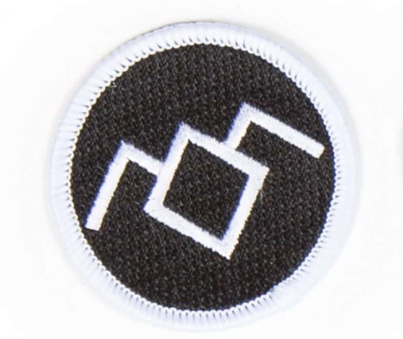 Black Lodge / owl cave symbol patch