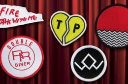 Official Twin Peaks patches
