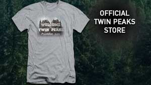 Official Twin Peaks merchandise is now available!