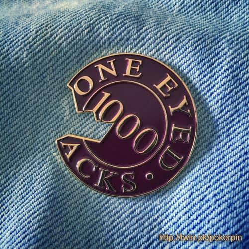 one eyed jacks poker chip