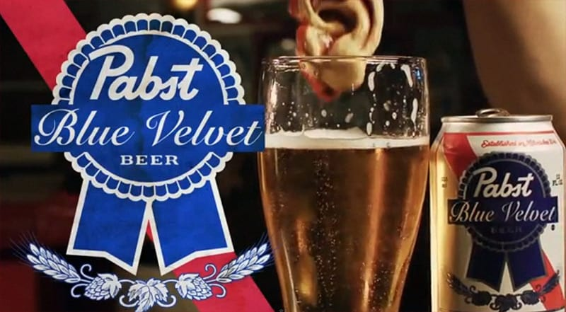 Pabst Blue Velvet, David Lynch homage