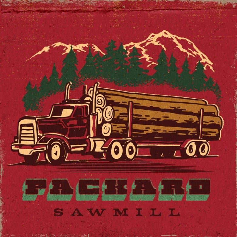 Packard Sawmill matchbook