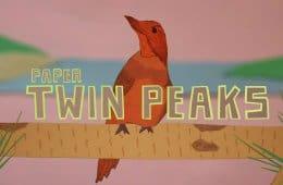 Paper Twin Peaks Intro