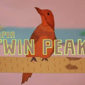 Twin Peaks Intro Entirely Recreated With Paper (Premiere)