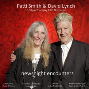 David Lynch Tells Patti Smith Twin Peaks Is Like A Magnet, And She Thanks Him For It (Video)