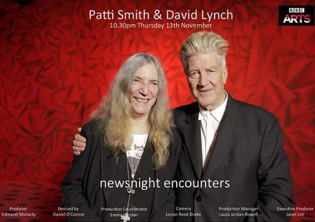Patti Smith & David Lynch: newsnight encounters