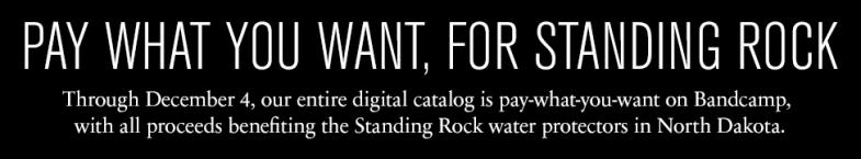 Sacred Bones Records - Standing Rock