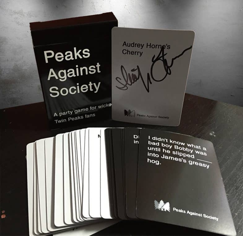 Peaks Against Society: Twin Peaks expansion pack for Cards Against Humanity