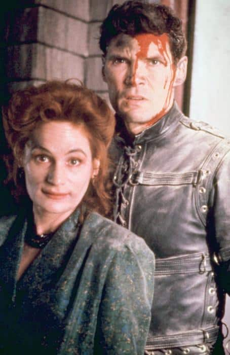 Wendy Robie and Everett McGill in Wes Craven's People Under The Stairs