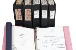 Piper Laurie's original Twin Peaks scripts