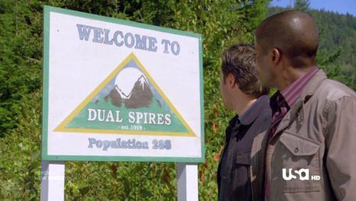 Psych Dual Spires Twin Peaks