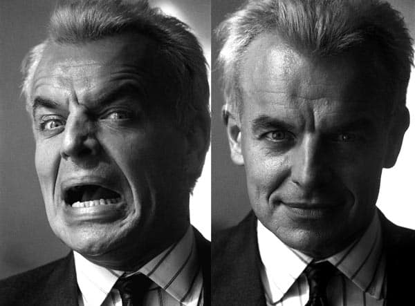 Ray Wise as Leland Palmer, photographed by Richard Beymer