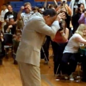 Ray Wise Doing The Leland Shuffle (Video)