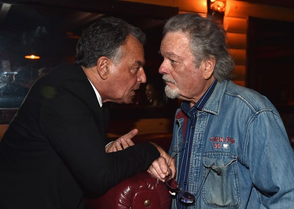 Ray Wise and Russ Tamblyn at The Missing Pieces premiere in July 2014.