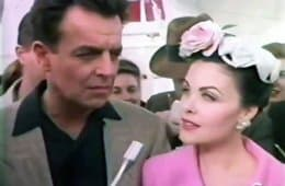 Ray Wise and Sherilyn Fenn in Liz