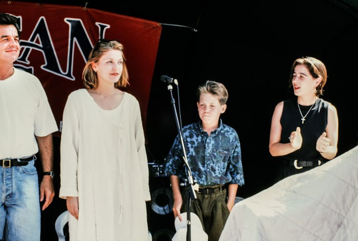Ray Wise, Sheryl Lee, Jonathan J. Leppell and Moira Kelly