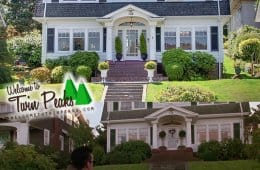 Laura Palmer's house: the front view