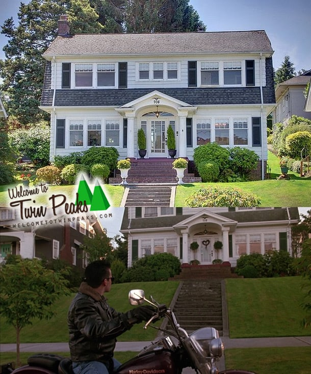 Laura palmer 39 s house as seen in twin peaks for sale for Palmer homes