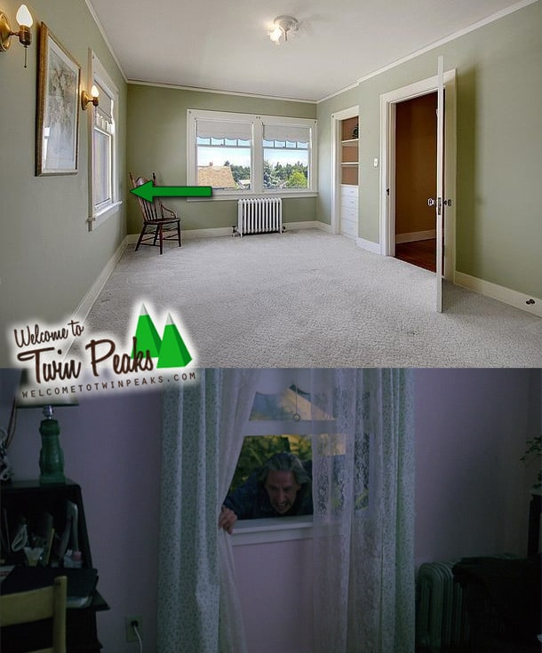 Laura Palmer's house: Laura's bedroom