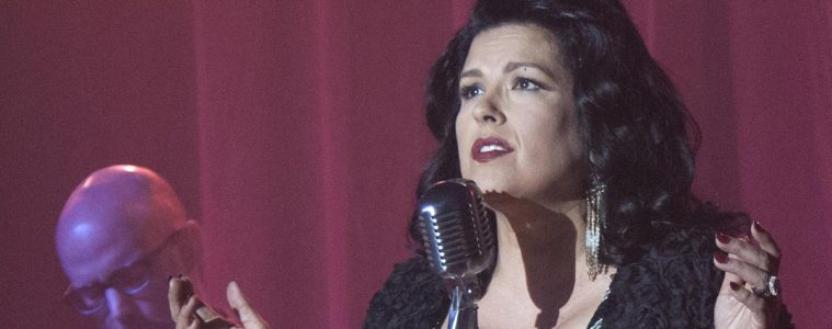 Rebekah Del Rio (and Moby) performing No Stars in Twin Peaks Part 10