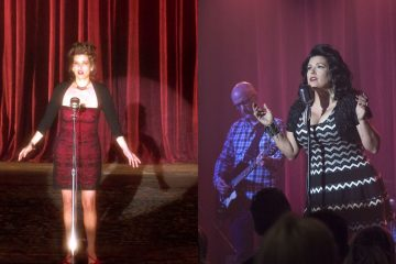 Rebekah Del Rio's dresses from Twin Peaks and Mulholland Drive