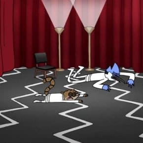 Cartoon Network's Regular Show Adds Twin Peaks Reference