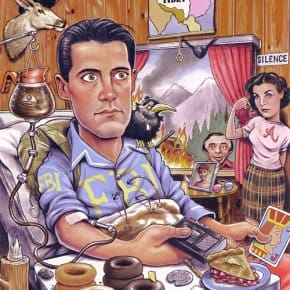 Search And Find Twin Peaks Illustration