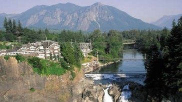 Drone Over Twin Peaks: Snoqualmie Falls And The Great