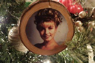 Laura Palmer Christmas Tree Ornament