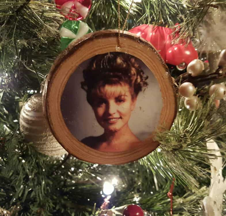 Laura Palmer Christmas Tree Ornament