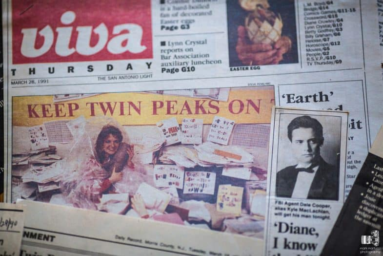 Save Twin Peaks (It Is Happening Again) by Mark Martucci