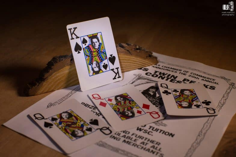 Saved Twin Peaks: Playing cards