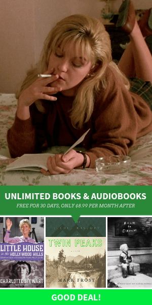 Twin Peaks and David Lynch themed books and audiobooks