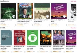 Twin Peaks books and audiobooks on Scribd
