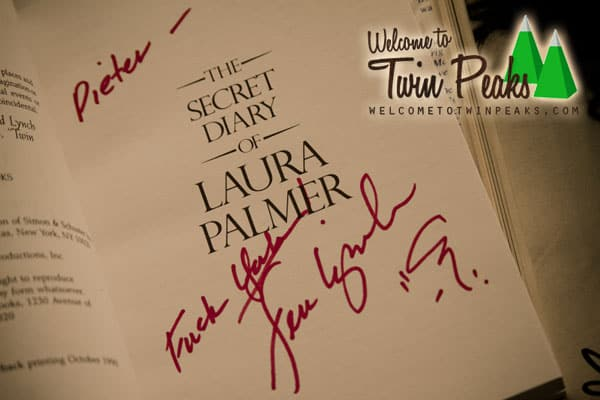 The Secret Diary Of Laura Palmer signed by Jennifer Lynch