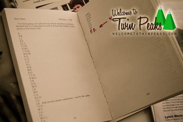 Secret Diary Of Laura Palmer signed by Jennifer Lynch