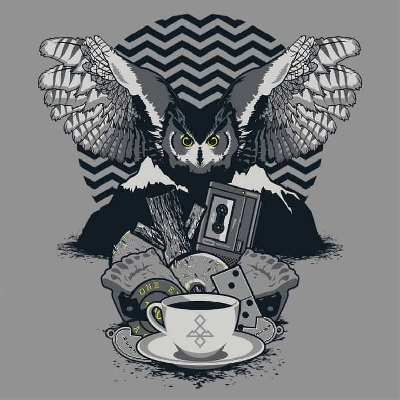 Secrets Are Dangerous Twin Peaks on Shirtpunch