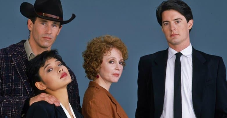 Sheriff Truman, Josie Packard, Catherine Martell and Dale Cooper