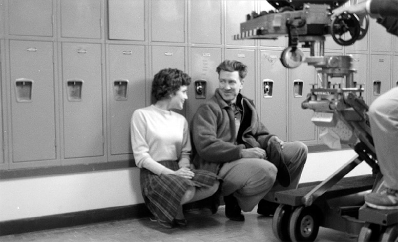 Sherilyn Fenn and David Lynch: Behind the scenes of the Twin Peaks pilot