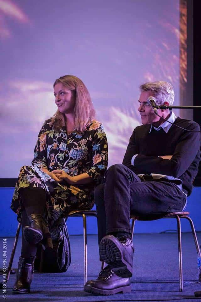 Sheryl Lee and Dana Ashbrook at the Twin Peaks UK Festival 2014. Photo by Nicolai Kornum.